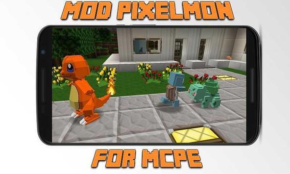 Mod Pixelmon for MCPE apk screenshot