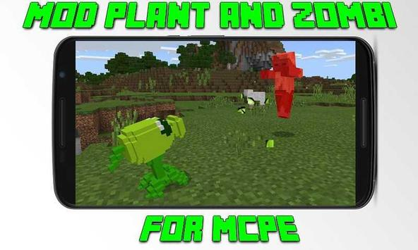 Mod Plant and Zombi for MCPE poster