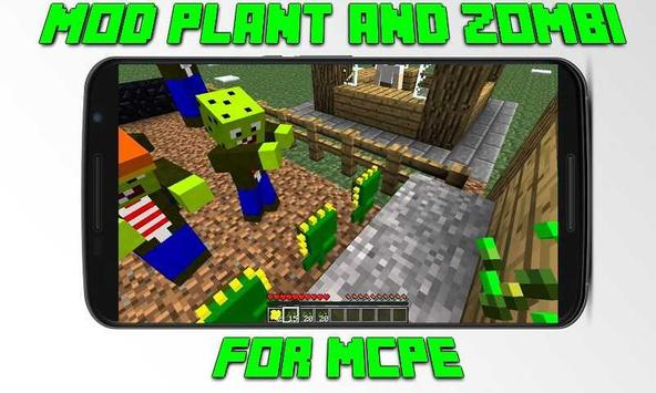 Mod Plant and Zombi for MCPE screenshot 1