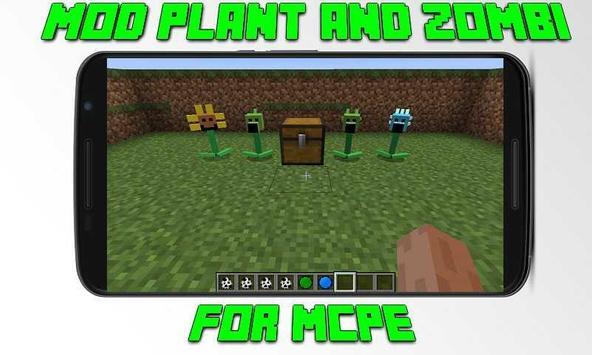 Mod Plant and Zombi for MCPE screenshot 2