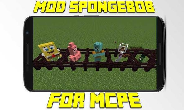 Mod SpongeBob for MCPE apk screenshot