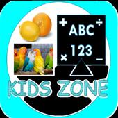 Kids Zone - Fun in learning icon