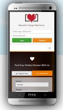 Marudhar Telugu Matrimony poster