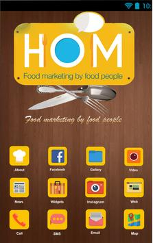 House Of Marketing (HOM) poster