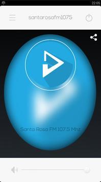 Santa Rosa FM 107.5 Mhz poster