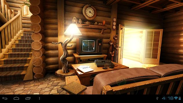 My Log Home 3D Wallpaper FREE Apk Screenshot