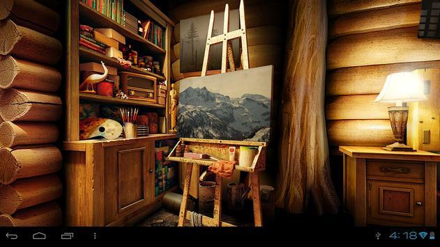 My Log Home 3D wallpaper FREE apk screenshot