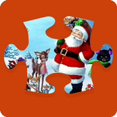 Christmas Puzzle Game 15 icon
