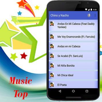Chino y Nacho - Andas En Mi Cabeza música apk screenshot