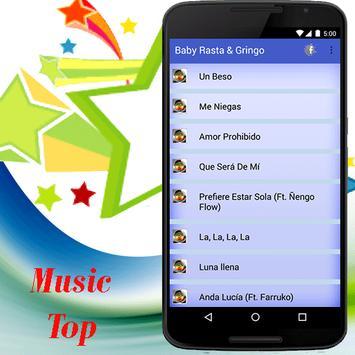 Baby Rasta & Gringo música 2017 apk screenshot