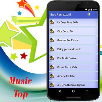 Eros Ramazzotti - Otra Como Tu música screenshot 1