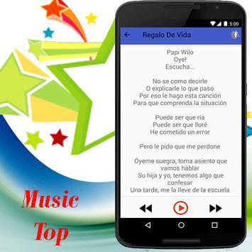 Papi Wilo música 2017 apk screenshot