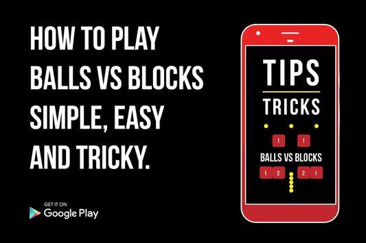 Guide for Balls vs blocks poster