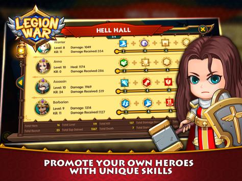 Legion War - Tactic & Strategy apk screenshot