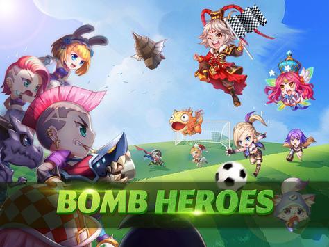 Bomb heroes - Treme seu coração Cartaz