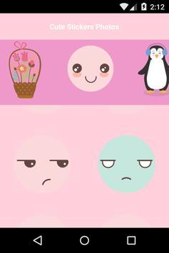 Cute Stickers Photos apk screenshot