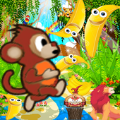 Tiny Monkey Cross Jungle icon