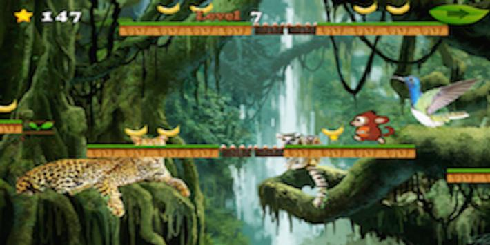 Tiny Monkey Cross Jungle screenshot 4