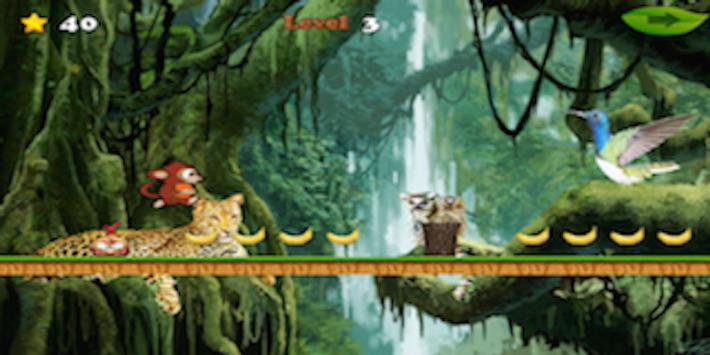 Tiny Monkey Cross Jungle screenshot 2