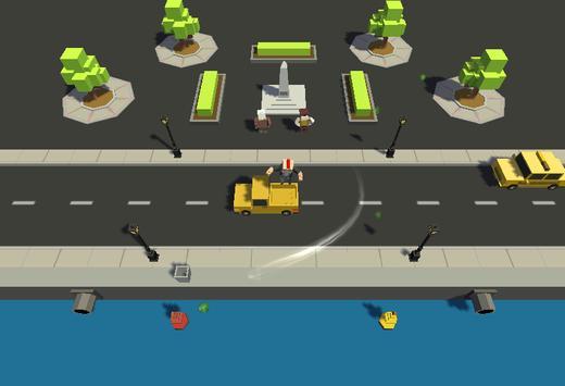 Crazy Road:Jump screenshot 1