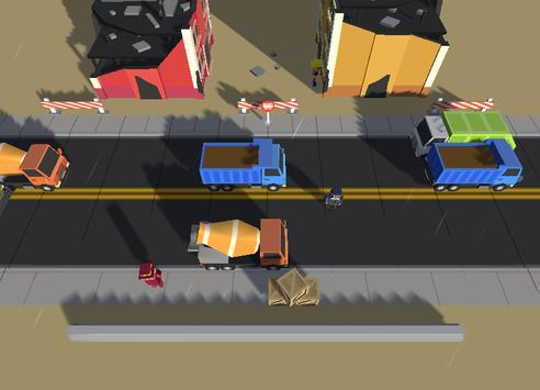 Crazy Road:Jump screenshot 2