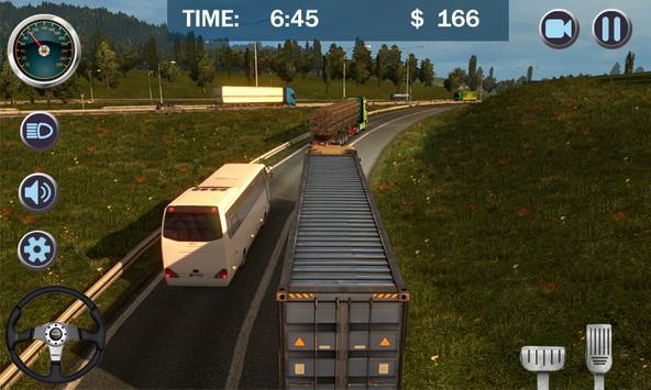 Cargo Truck City Transporter 3D screenshot 1