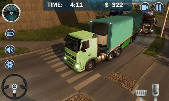 Cargo Truck City Transporter 3D screenshot 2