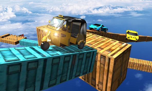 Impossible Tuk Tuk Rickshaw Driving apk screenshot