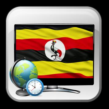 Cool time TV Uganda guide poster