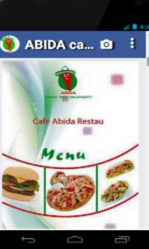 ABIDA cafe restaurant apk screenshot