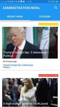 Administration News screenshot 1