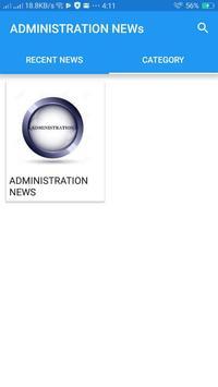 Administration News screenshot 2