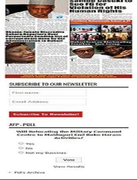 African free press AFP apk screenshot
