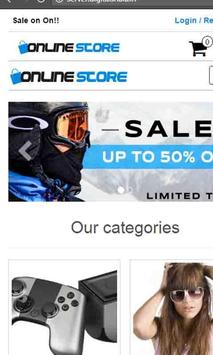 Online Shopping screenshot 1