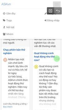 ASKvn - Hỏi đáp vui screenshot 8