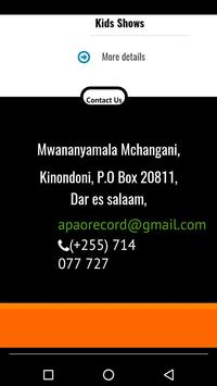 APAO TANZANIA apk screenshot