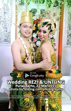 A Wedding Rezi Untung poster