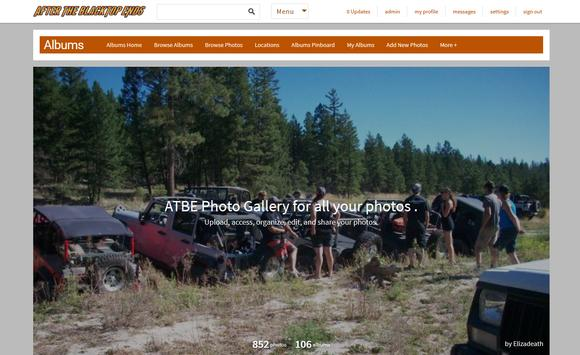 ATBE Jeep club Forum Store poster