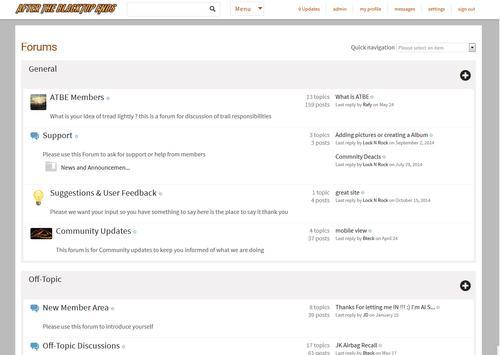 ATBE Jeep club Forum Store apk screenshot