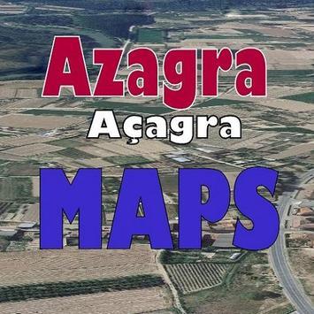 AZAGRA MAPS poster