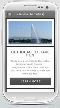 Geneva Activities screenshot 1