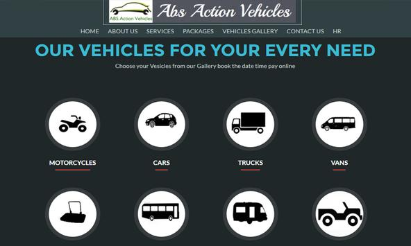 Abs Action Vehicles poster