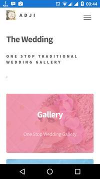 The Wedding by Adji apk screenshot