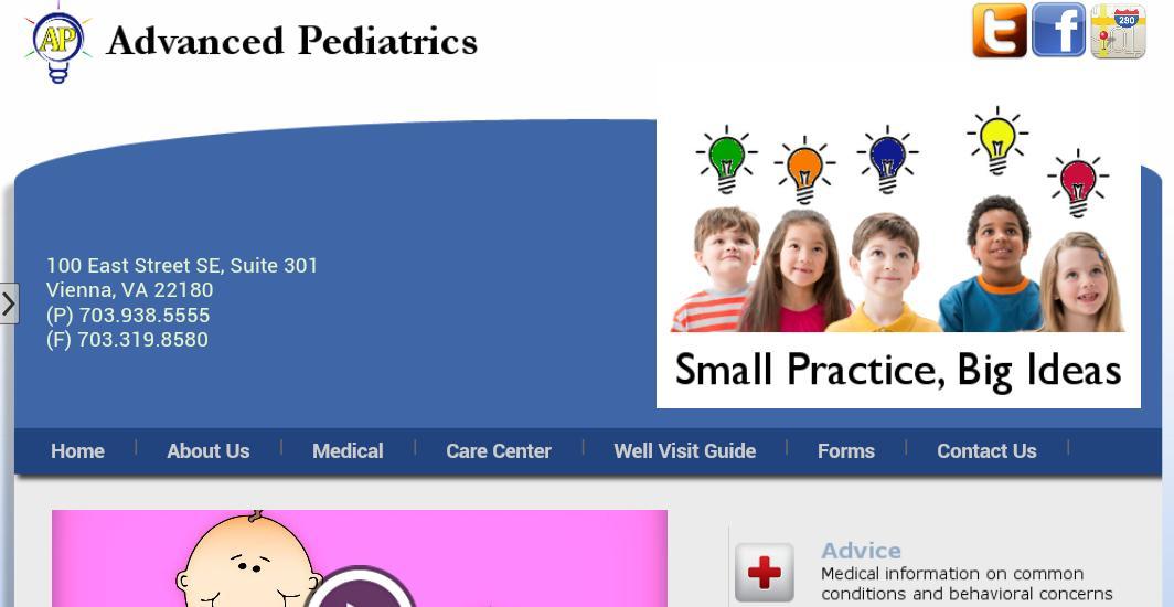 Advanced Pediatrics poster