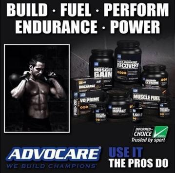 AdvoCare Robert Campbell poster