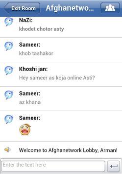 afghan chat