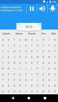 Afrikan 2 Amerikan Word Search screenshot 5