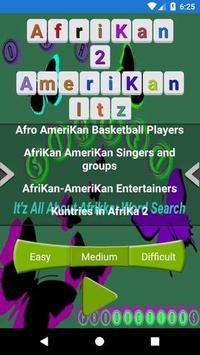 Afrikan 2 Amerikan Word Search screenshot 7