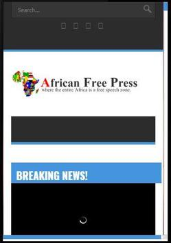 African Free Press Online poster