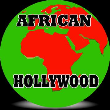 African Hollywood poster